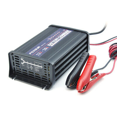 12V 10A 7-Stage Smart Fully Automatic Car Battery Charger for AGM CA WET