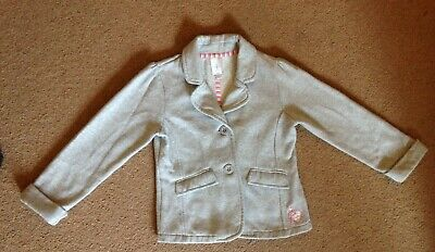 Young girls age  5-6 Stylish, Jasper Conran, jacket grey with slight sparkle.