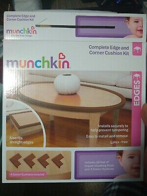 Munchkin Child Safety - Complete Edge and Corner Cushion Protection KitNew