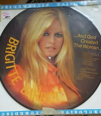 Brigitte Bardot - And God Created the Woman (PICTURE DISC LP)