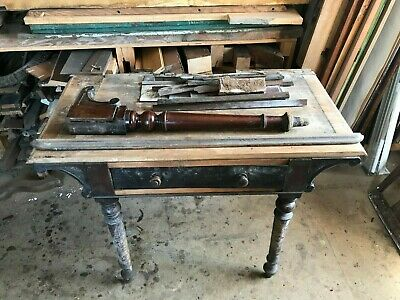 Edwardian Mahogany Ladies Writing Desk  For Restoration Great Potential