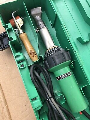 Leister Triac S Welder With Pick & Roll Tool