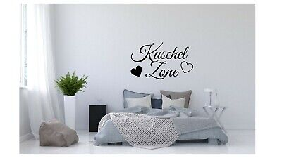Wall Tattoo Cuddly zone of 2 request Name with Hearts-Wall Picture Wall Tattoo