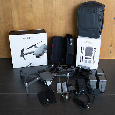 DJI Mavic 2 PRO Drohne mit Fly More Package (top Zustand)