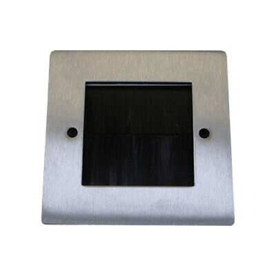 PV-6-50X50-BRUSHBrushed Chrome Plate Cut 50x50 with Brushes