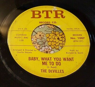 Gnarly Garage Punk Slammer 45 The Devilles Baby What You Want Me to Do HEAR