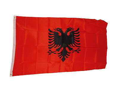 "Decal 4/"" X 3/"" Coated Finish Multipurpose Albania Flag Reflective Sticker"