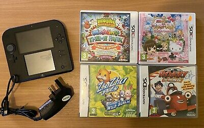 Nintendo 2ds Console With Games