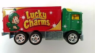 Authentic Lucky Charms Cereal Replica Truck Diecast Metal Model Collectible Toy