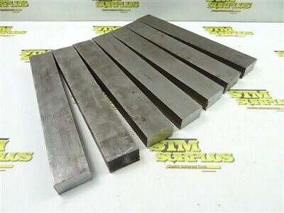 "26Lb Solid Steel Bar Stock 7/8"" X 1-1/2"" X 10"" Lengths"