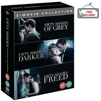 Fifty Shades 3 Movie Collection DVD Boxset 50 Shades of Grey Freed Darker NEW