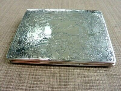 """Antique Vintage Sterling Wallet, Purse, Card Case, by Reed & Barton""""Gail""""(57776)"""