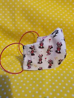 Minnie mouse women/teens face mask