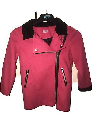 Girls Pink Coat From F&F 5-6 Years
