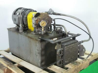 Self Contained Hydraulic Pump Lincoln Motor And Bosch Pump With Filter