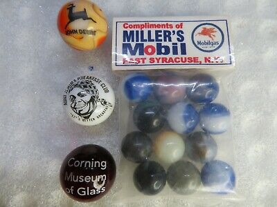 Mixed Lot of 3 Beautiful Vintage  Marbles