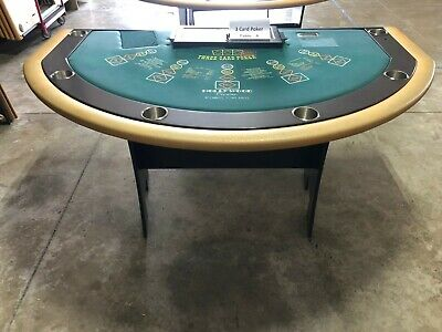 Professional Size 3 Card Poker Table (USED)