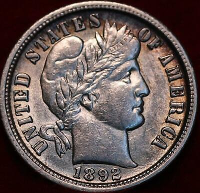 1892-O New Orleans Mint Silver Barber Dime
