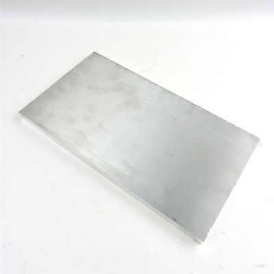 ".625"" thick 6061 Aluminum PLATE  6.875"" x 12.75"" Long Solid  Stock sku 137138"