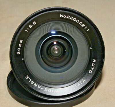 VIVITAR (KIRON) AUTO WIDE ANGLE 20mm 1:3.8 LENS M42 MOUNT - READ
