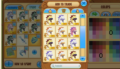 Animal Jam Spikes Headdress Rings Beta Blankets Tiaras * Read The Description!!*