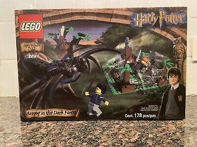 LEGO Harry Potter Aragog In The Dark Forest 4727 (2002) BRAND NEW SEALED IN BOX
