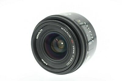 Minolta MAXXUM AF 28mm f/2.8 Wide-Angle Lens for Minolta/Sony A-Mount  #P1112