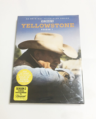 Brand New Yellowstone Complete Series Season 1 (DVD, 4-Disc Set) New Sealed DVD