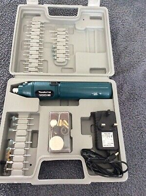 voche tooltime hobby drill with all attachments cordless only used once