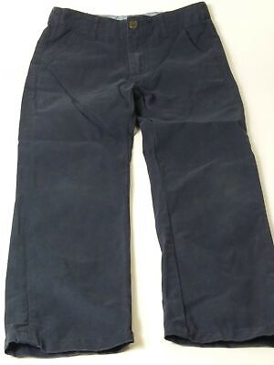 Boys Marks & Spencer Blue Adjustable Waist Chino Jeans Trousers Age 8-9 Years