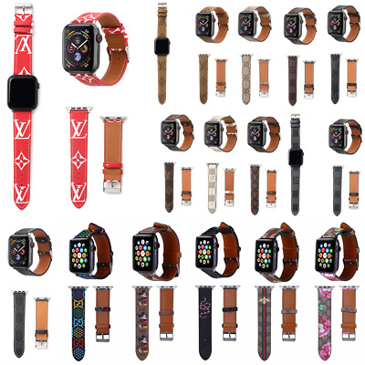 Luxury Leather Wrist Quick Release Strap iWatch Band For Apple Watch Series 4/3