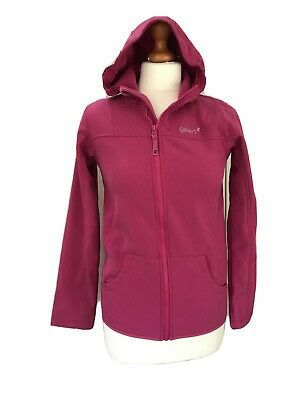 Worn Once Gelert Softshell Hooded Jacket Hoodie Style Size Age 13