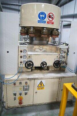 Biebuyck CP10 Glass bevel and grinding machine for tumblers and recycled glasses