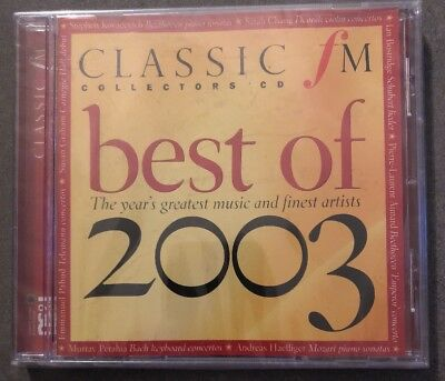 V/A - Best Of 2003 (UK 12 Tk CD Album) (Classic FM Magazine No 106)