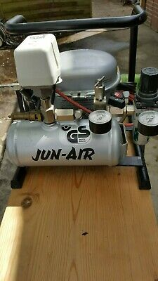 JUN-AIR Airbrush Kompressor Type T17 TROLL /  MINOR /  flüsterleise