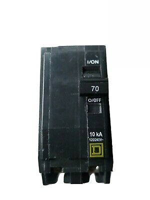 Square D by Schneider Electric QO270CP QO 70-Amp Two-Pole Circuit Breaker