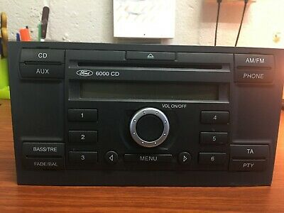Ford 6000 Cd Radio Complete With Code