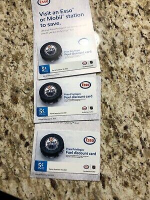 $12 Esso Or Mobil Save 5 Cents Gas Gift Card Good For 80 Litres For Half Price