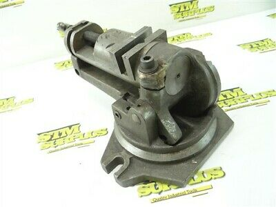 """Victor Usa 2-1/4"""" Heavy Duty 3 Axis Vise Milling Grinding"""