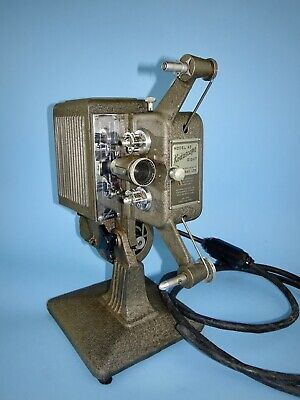 Late 1930s Kodak Kodascope Eight-45 8mm film projector outfit with accessories