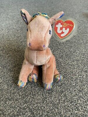 TY Beanie Babies. Zodiac Horse. Original Authentic Soft Toy Collectable.