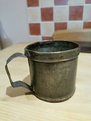 Vintage Industrial Measuring Cup French
