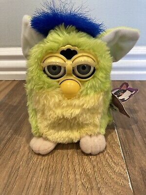 Original Tiger Furby Fully Working, With Tags & Labels