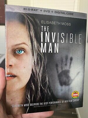 The Invisible Man Blu-Ray Dvd Digital Elisabeth Moss