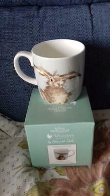 Hare Mug by Royal Worcester - Wrendale collection  Brand New in Box