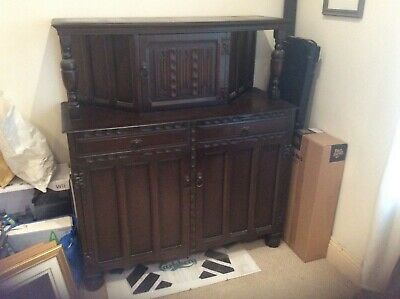 Dark large old dresser style unit collection East Sussex