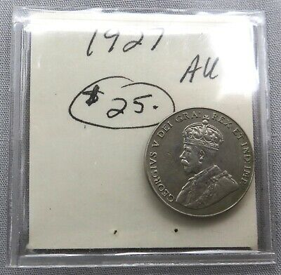 2 Canadian Coins: 1927 & 1932 5 Cents, King George V