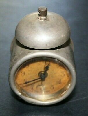 Mini Alarm Clock Made in Germany Antique Non-Working Parts Repair Restore Only