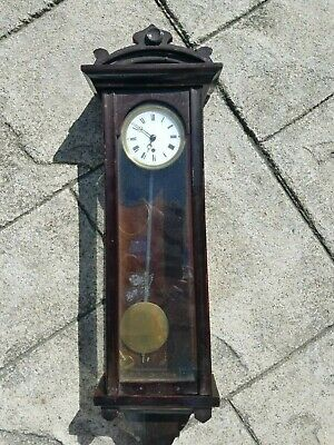 Miniature Vienna regulator viennese Austria Wall clock dachluhr french timepiece