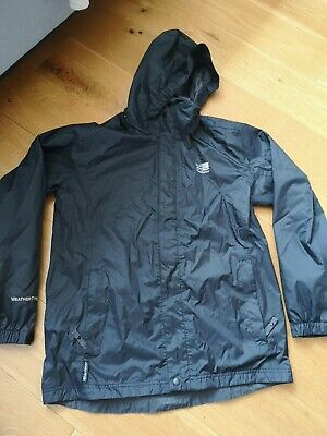 Karrimor Black Weathertite Jacket Age 13